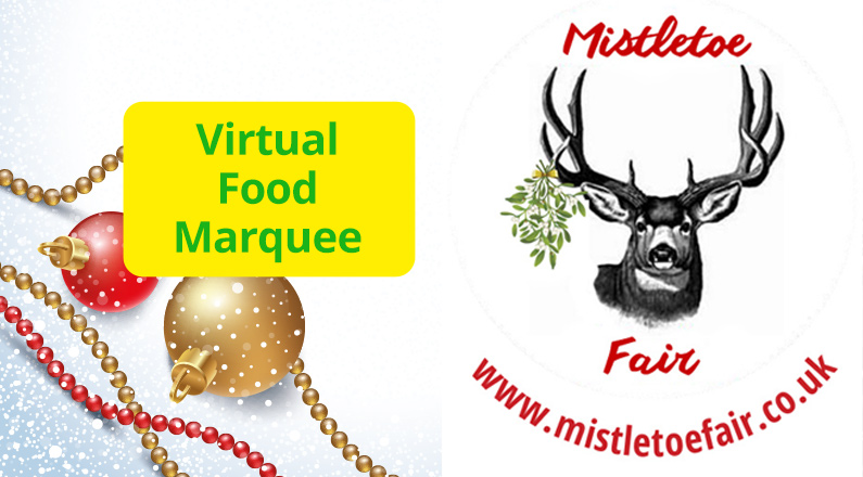 Visit our food marquee