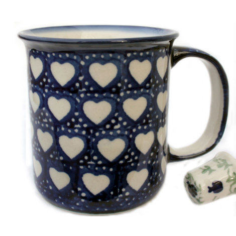 K-064 MUG IN SEM-X T1 - LOVE HEARTS