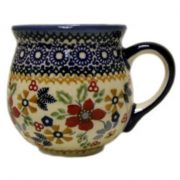K-090 BELLY MUG (M) IN DPCS S1 - FLORAL BOUQUET