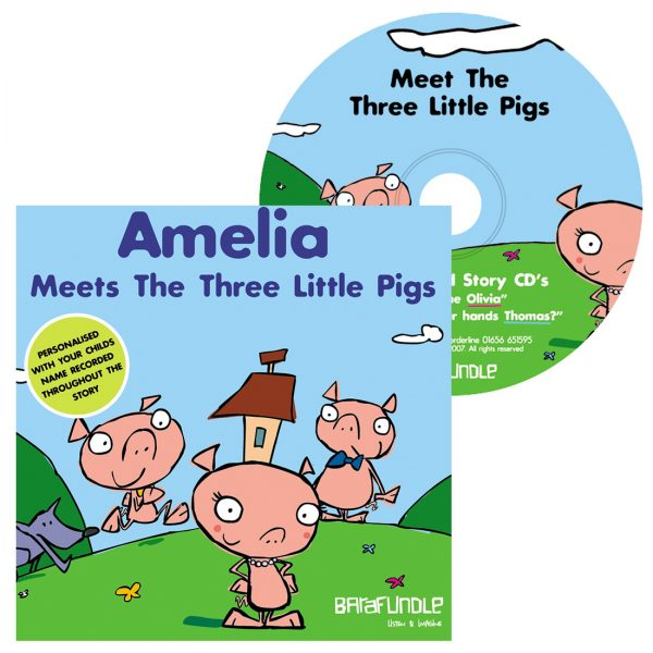 Meets The Three Little Pigs