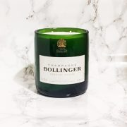 Upcycled Bollinger Champagne Bottle Candle