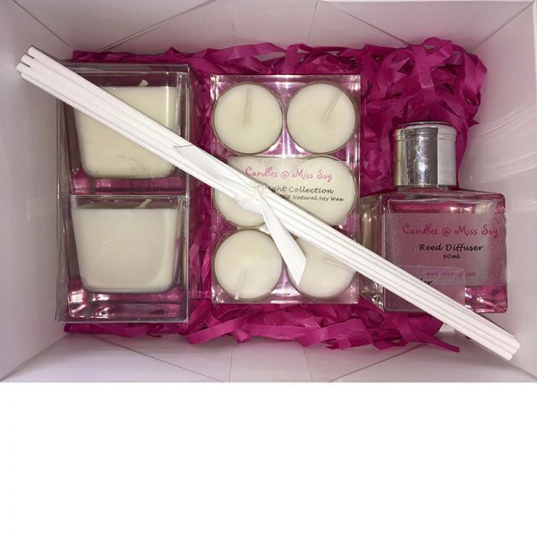 Soy Candle Gift Box Set