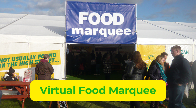 Virtual Food Marquee