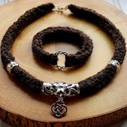 Celtic-Ramiro-Necklace-Mocha-(Bracelet-Sold-Separately)