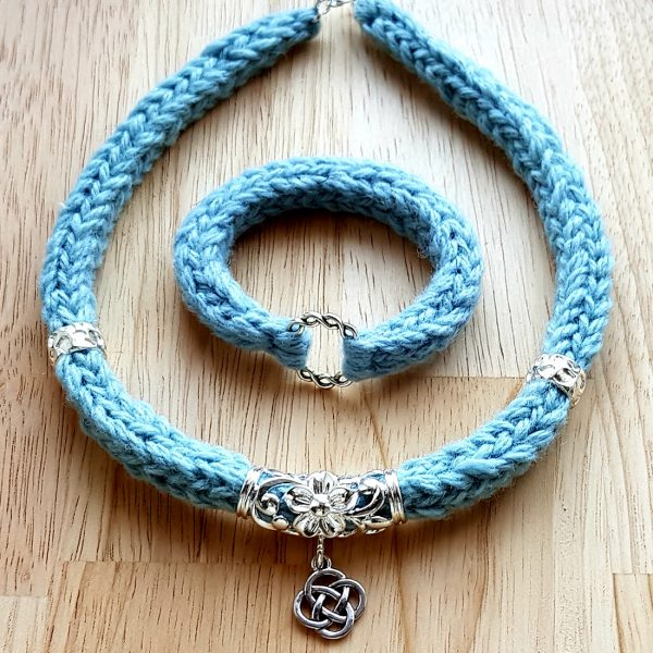 The Celtic Ramiro Necklace - Sky-Bl'ewe