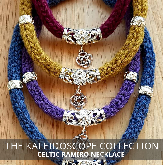 Celtic Ramiro Necklace - Kaleidoscope