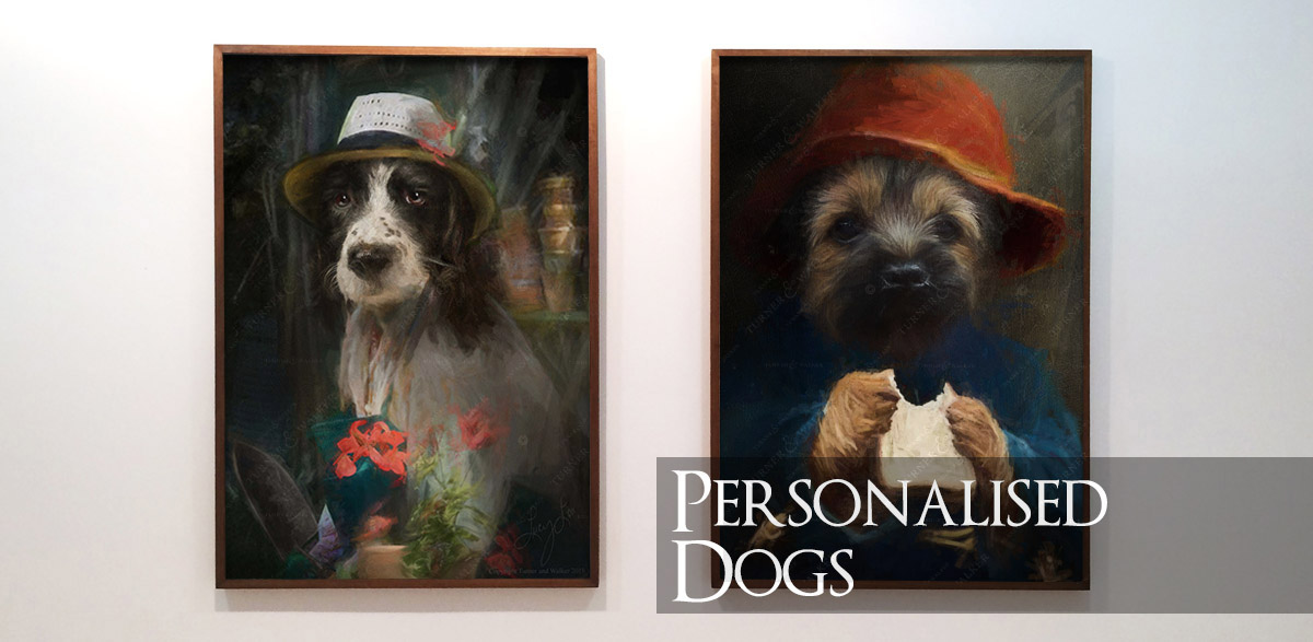 Personalised Dog Portraits