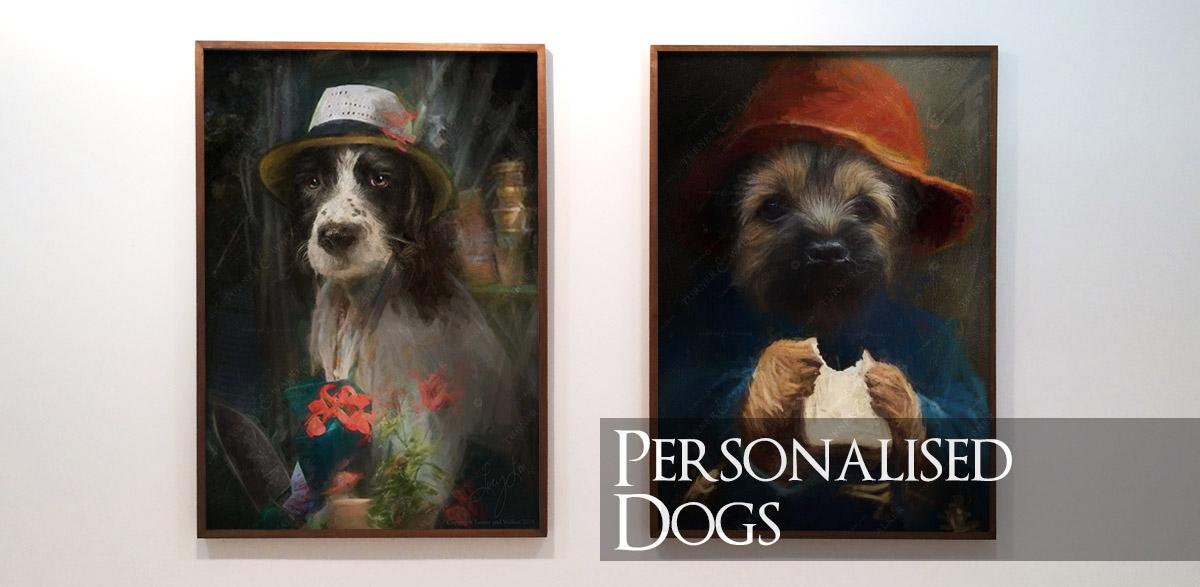 Personalised Dog Portraits