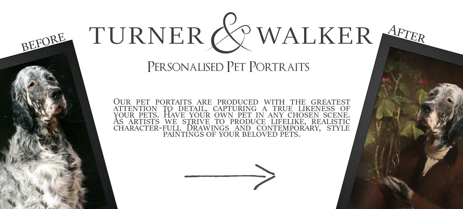 Turner & Walker - Personalised Pet Portraits