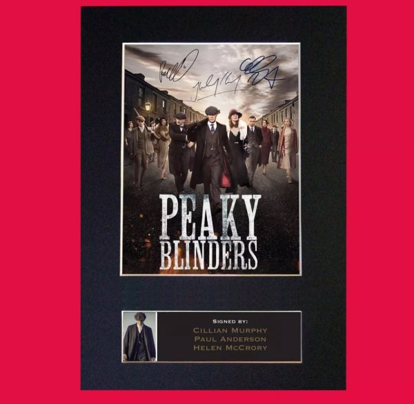 Peaky Blinders Signed Reproduction Print