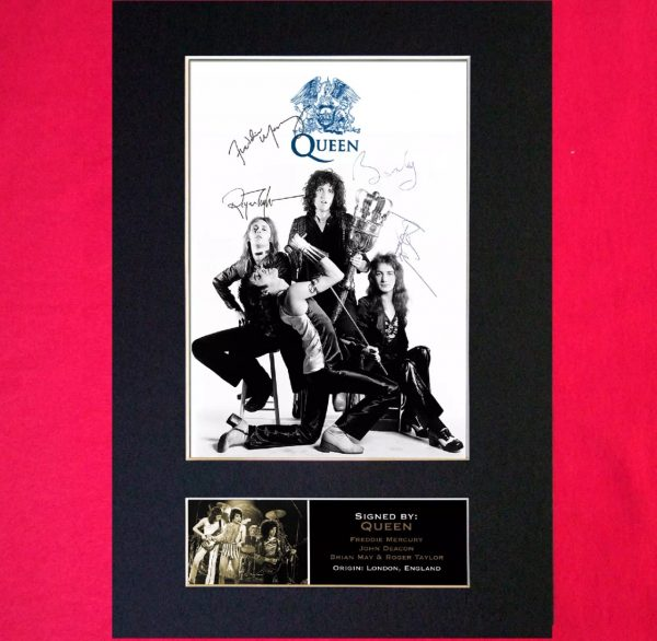 Queen Signed Reproduction Print
