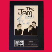 The Jam Signed Reproduction Print