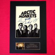 Arctic Monkeys Signed Reproduction Print