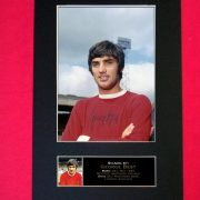 George Best Signed Reproduction Print