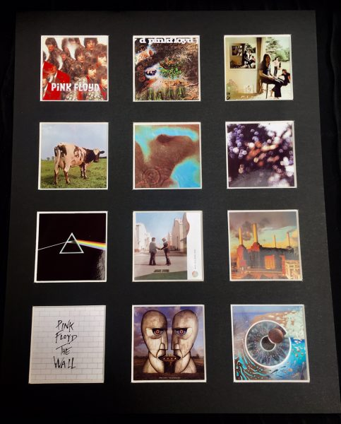 Pink Floyd LP Discography Picture
