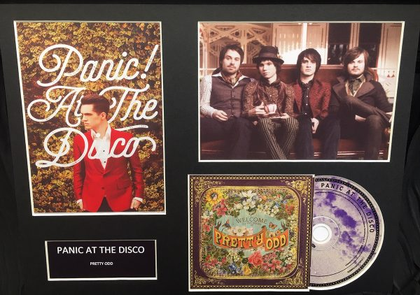 Panic at the Disco Original CD Mounted Display