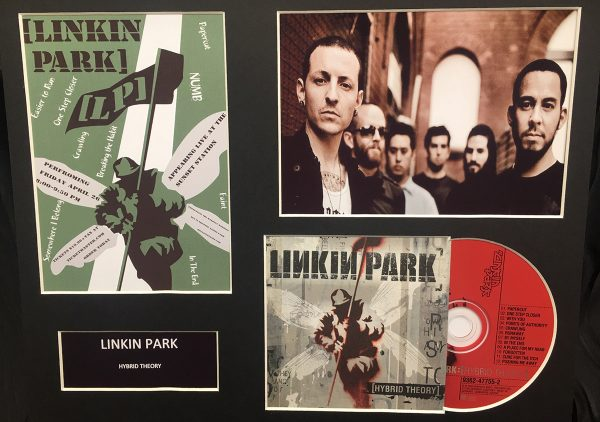 Linkin Park Original CD Mounted Display