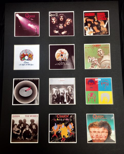 Queen LP Discography Picture