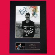 Panic at the Disco Signed Reproduction Print
