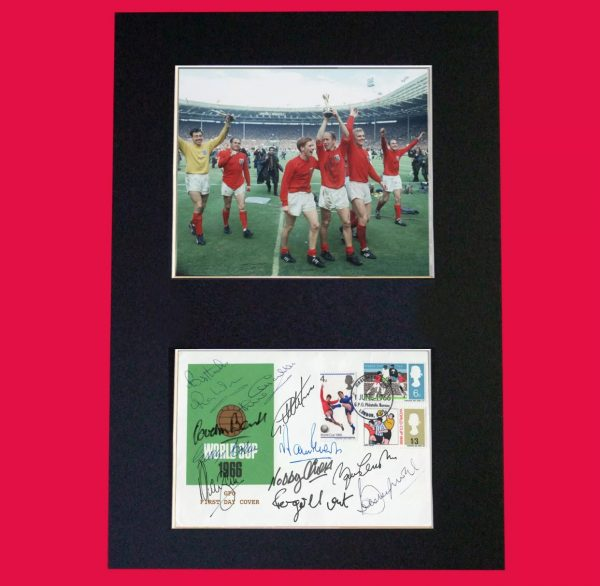 World Cup 66 Signed Reproduction Print