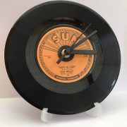 "Elvis Presley 7"" Record Clock"