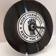 Northern Soul record clock
