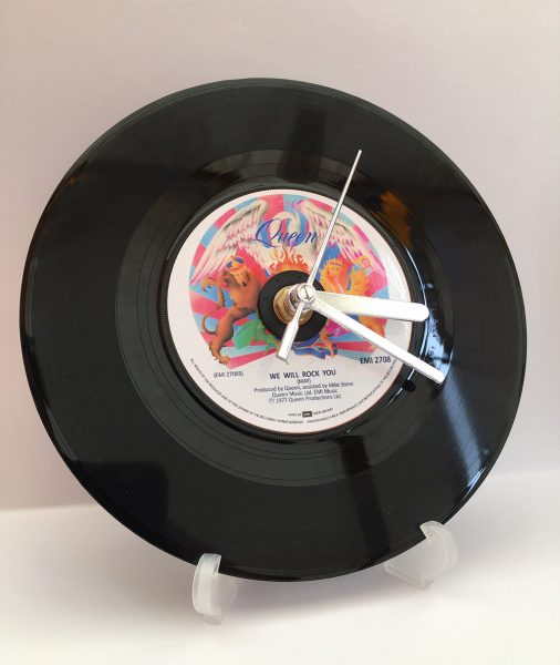 """Queen 7"""" Record Clock"""