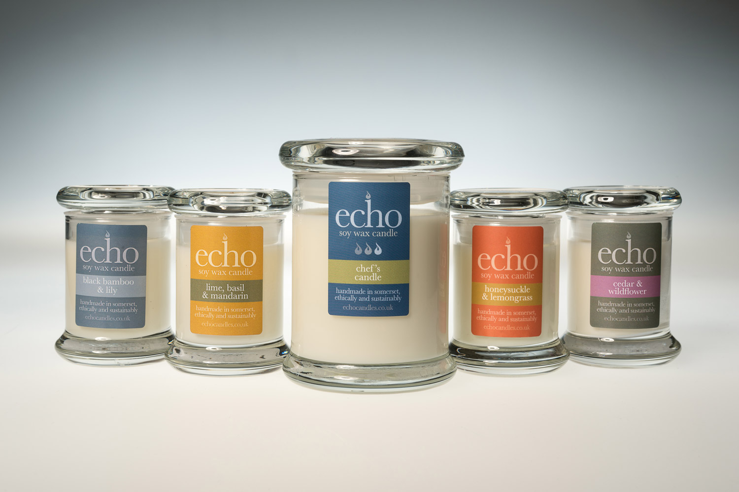 Echo Soy Wax Candles