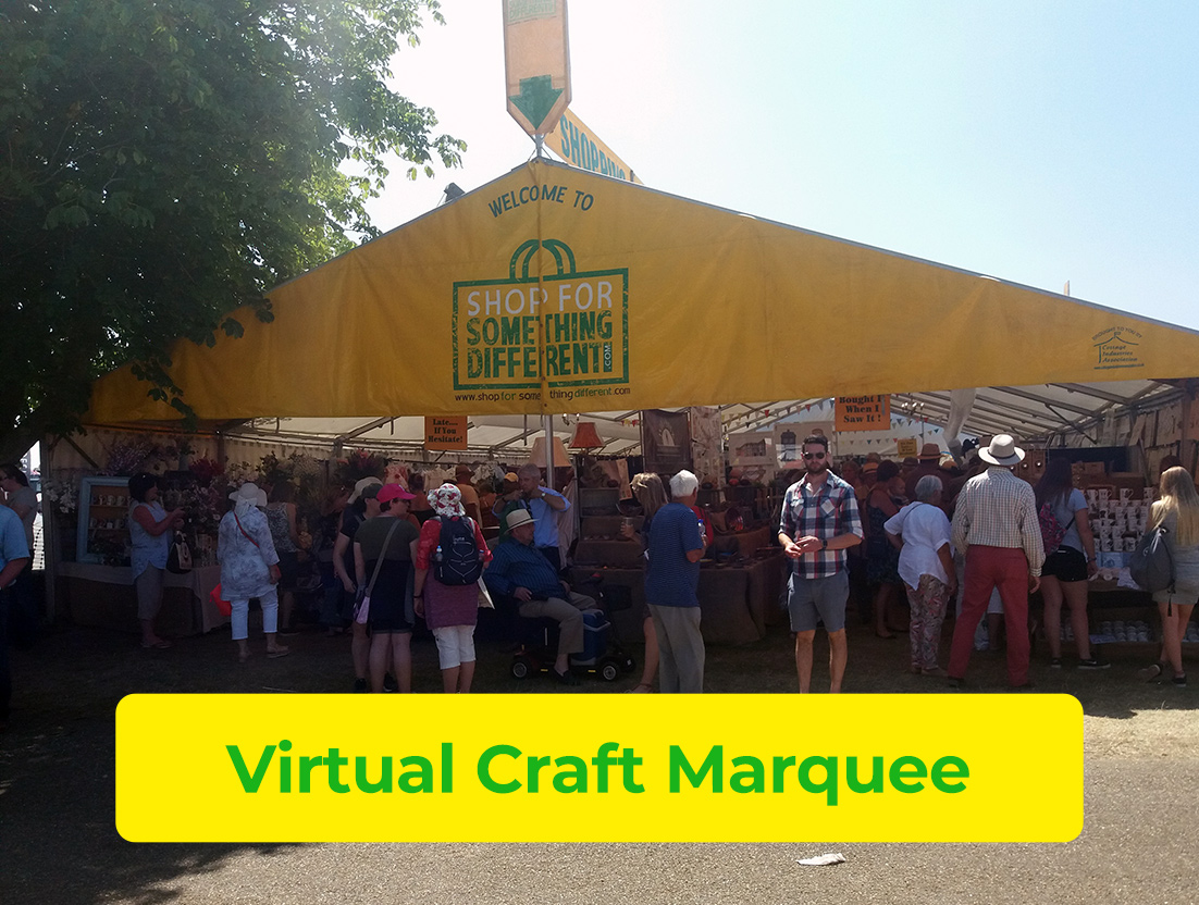 Visit Our Virtual Craft Marquee